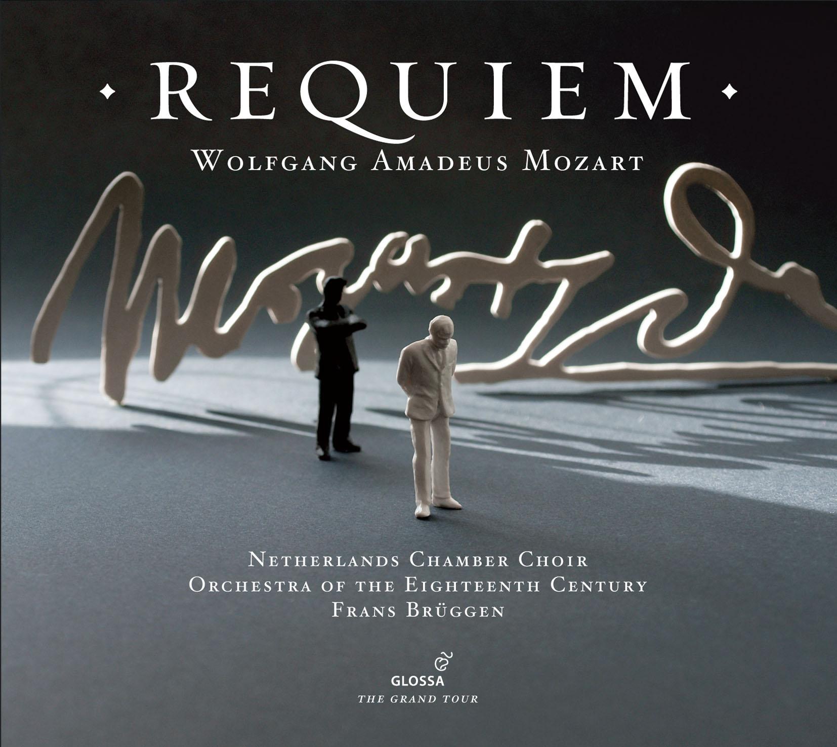 WOLFGANG AMADEUS MOZART Requiem. Orchestra of the Eighteenth Century, Frans  Brüggen