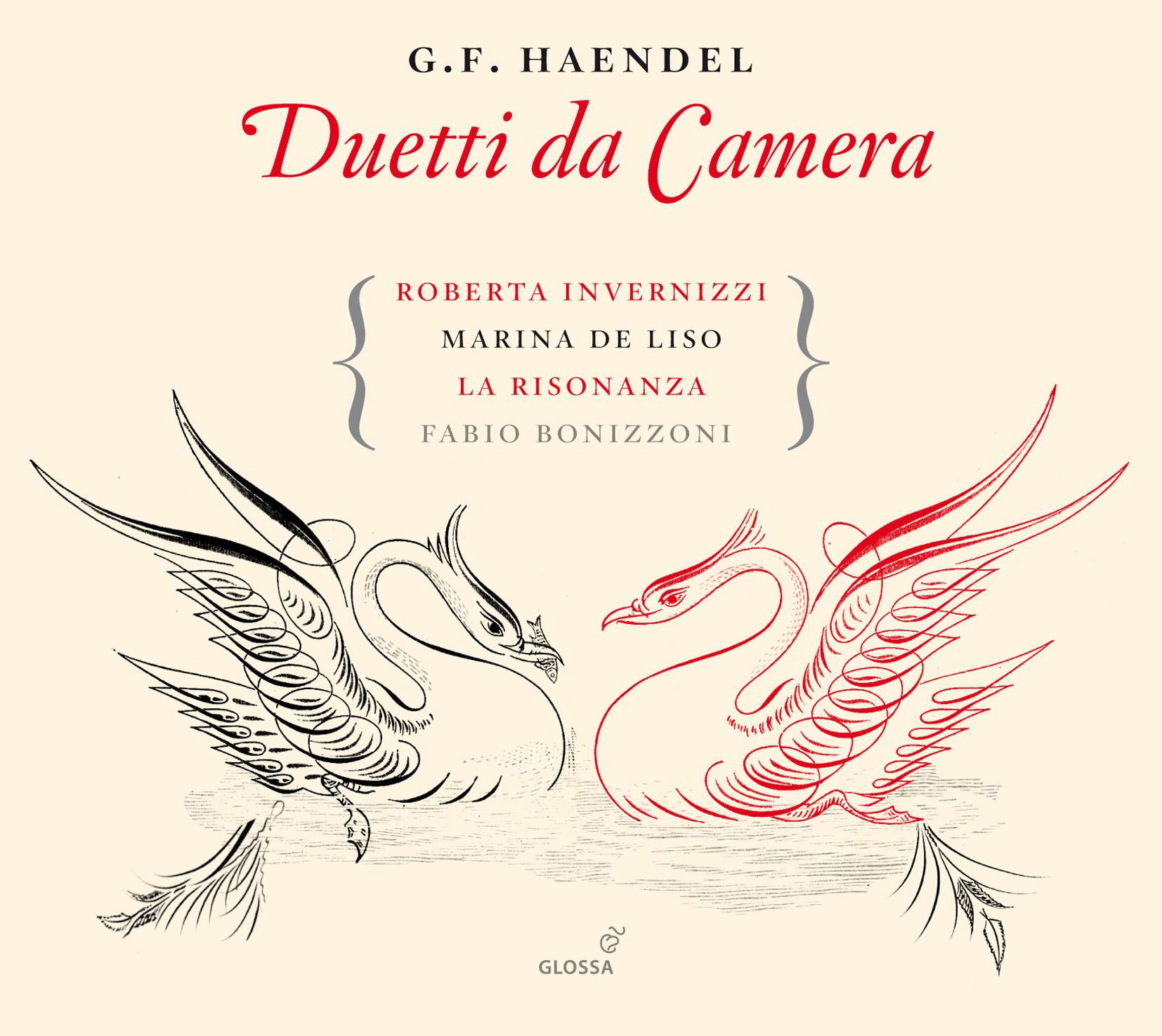 GEORG FRIEDRICH HAENDEL Duetti da Camera. Roberta Invernizzi ...